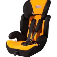 Scaun auto copii grupa 1-3 ani (9-36 kg) - Scaun auto VANORA Vanora MXZ-EF BLOR, grupele 1, 2 si 3, 9-36 Kg, negru-portocaliu