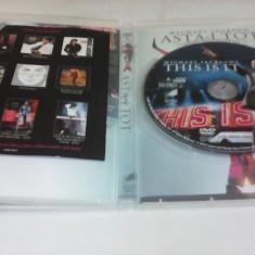 DVD MICHAEL JACKSON-ASTA-I TOT ORIGINAL SUBTITRAT - Muzica Sarbatori