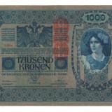 Bancnota Straine, Europa, An: 1902 - SV * Austria Ungaria 1000 KRONEN / COROANE 1902-1919 DeutschOstereich VF++