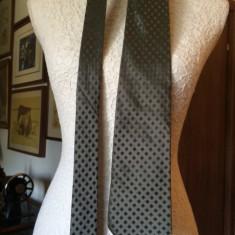 Cravata YVES SAINT LAURENT matase - Cravata Barbati Yves Saint Laurent, Culoare: Verde