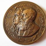 RARA! MEDALIA AL X-LEA CONGRES INTERNATIONAL DE LINGVISTICA BUCURESTI 1967 - Medalii Romania