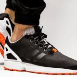 ADIDASI ORIGINALI 100% ADIDAS ZX Flux Black/Black din GERMANIA NR 44 2/3 - Adidasi barbati, Culoare: Din imagine