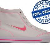Adidasi dama Nike Capri Mid - adidasi originali - tenisi panza - Adidasi barbati Nike, Marime: 38, Culoare: Alb, Textil