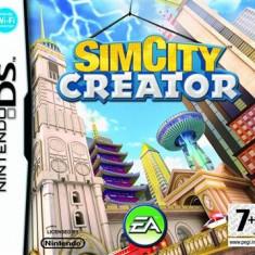 Simcity Creator Nintendo Ds - Jocuri Nintendo DS Electronic Arts