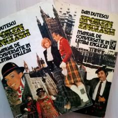 Dan Dutescu - Spoken English, Manual de conversatie in limba engleza {2 volume} - Carte Literatura Engleza