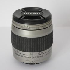 Obiectiv Nikon AF Nikkor 28-80mm 1:3.3-5.6 G - Transport gratuit prin posta! - Obiectiv DSLR Nikon, Autofocus, Nikon FX/DX