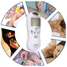 Aparat masaj cu electrostimulare 4 electrozi
