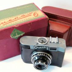 Camera aparat foto Smena 6 cu etui in cutia originala Rusia - Aparat Foto cu Film Smena, Mediu