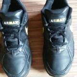 Nike Air Max originali, piele naturala, nr.42, 5-27 cm. - Adidasi barbati Nike, Culoare: Negru