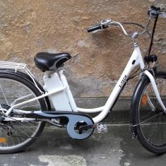 Bicicleta electrica Z-TECH ZT11 24V 12AH electric bike, motor electric, baterie - Bicicleta electrice, 17 inch, 26 inch, Numar viteze: 6
