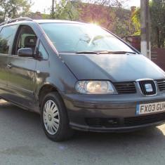 Seat Alhambra 7 locuri, 1.9 TDI Diesel, an 2003, Motorina/Diesel, 190000 km, 1898 cmc