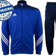 Trening barbat Adidas Sereno - trening original - treninguri pantaloni conici - Trening barbati Adidas, Marime: XS, S, M, L, XL, Culoare: Albastru, Poliester