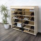Pantofar panza pentru 36 perechi pantofi-bej - Raft/Etajera