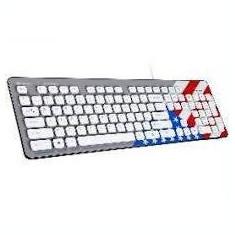 Tastatura Tracer Tastatura TRAKLA45198, Amerikana, USB, alb - Husa tableta cu tastatura