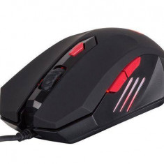 Mouse Natec optic Natec silent GENESIS G66 GAMING NMG-0662, 2000 DPI + DPI switch, USB, negru