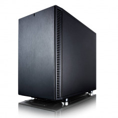 Carcasa Fractal Design Design Define Nano S, Mini Tower, neagra, fara sursa - Carcasa PC