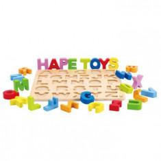 Hape Alfabetul fericit - Jocuri Litere si Cifre