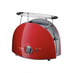 Prajitor de paine Bosch TAT 6104 Private Collection, putere 900W, rosu - Toaster