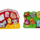 MATTEL Puzzle animale Learning Asst. Polish DLB27 - McDonalds jucarie