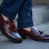 Pantofi Exclusive Loafer COD: TOP-3. NEW COLLECTION - Pantofi barbati, Marime: 38, 39, 40, 41, 42, 44, Culoare: Din imagine, Piele naturala