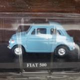 P7. Macheta Fiat 500, scara 1/43, Del Prado - Macheta auto