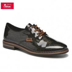 Pantof dama piele sintetica RIEKER 50614-90 leo (Marime: 37)