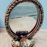 Oglinda stil antic decorat cu scoici ER136