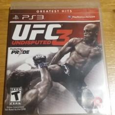 JOC PS3 UFC UNDISPUTED 3 ORIGINAL / by WADDER - Jocuri PS3 Thq, Sporturi, 12+, Multiplayer