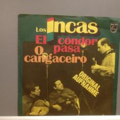 LOS INCAS - EL CONDOR PASA....(1976/PHILIPS/GERMANY) - VINIL/