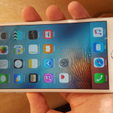 Iphone 6 plus 16gb silver neverlocked ca NOU