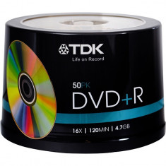 DVD+R TDK 16X CAKE BOX 50