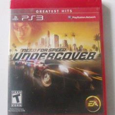 Need for Speed Undercover PS3 Game English Version SUA - Jocuri PS3 Electronic Arts