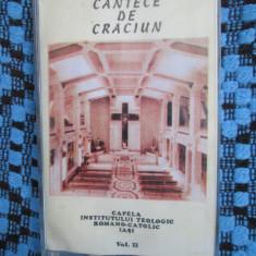 CANTECE DE CRACIUN II - CAPELA INSTITUTULUI TEOLOGIC ROMANO-CATOLIC IASI (CASETA - Muzica Sarbatori, Casete audio