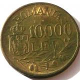 G5. ROMANIA 10000 lei 1947, 10 g, Brass, 27 mm, Mihai I ** - Moneda Romania, Alama