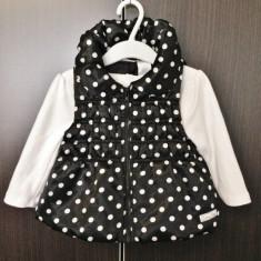 SET Vesta & Bluza Calvin Klein Originale - Marimea 12 Luni, Marime: Alta, Culoare: Multicolor