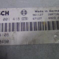 ECU BOSCH 0 281 001 418 0281001418 MSB100490 - ECU auto Bosch, Bmw