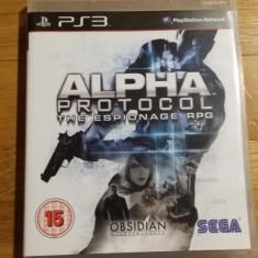 PS3 Alpha protocol - joc original by WADDER - Jocuri PS3 Sega, Shooting, 16+, Single player
