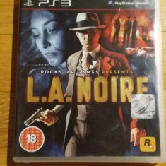 PS3 L.A. Noire - joc original by WADDER - Jocuri PS3 Rockstar Games, Actiune, 18+, Single player