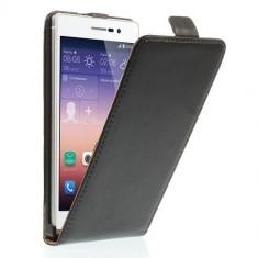 Husa Slim Flip - HUAWEI ASCEND G6 LTE (P7 mini) - Husa Telefon Orange