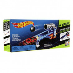 Jucarie Pista Hot Wheels Workshop Track Builder Cannon Blaster BGX80 Mattel - Masinuta de jucarie
