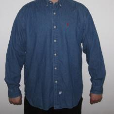 Camasa Originala POLO by Ralph Lauren MARIMEA - XL - ( cu maneca lunga ) - Camasa barbati Ralph Lauren, Culoare: Din imagine