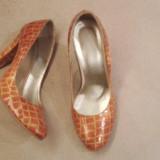 Pantofi Dama Custom-made 38 - Pantof dama, Culoare: Camel