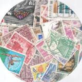 Pachet 100 timbre diferite Belgia stampilate