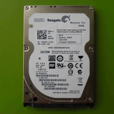 HDD laptop 250GB Seagate Thin 3.0Gb/s SATA - SLIM, 200-299 GB, Rotatii: 7200, SATA2, 16 MB