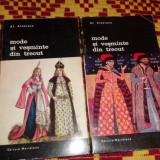 Mode si vesminte din trecut 2 vol./ilustratii/721pag.- Al.Alexianu - Carte design vestimentar