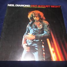 Neil Diamond – Hot August Night _dublu vinyl, 2 x LP, album, Marea Britanie - Muzica Rock Altele, VINIL