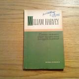 CERCETAREA ANATOMICA DESPRE MISCAREA INIMII SI A SINGELUI LA ANIMALE - W. Harvey