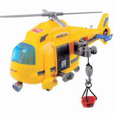 Elicopter de salvare cu troliu 3563573 Dickie - Elicopter de jucarie