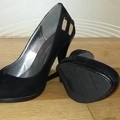Pantofi Benvenuti - Pantof dama Benvenuti, Marime: 37, Culoare: Negru