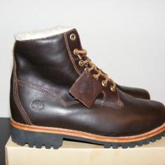 Ghete Timberland Mens EK Heritage Lined 6 Boots 6555A nr. 41 42 43 44 45 - Ghete barbati Timberland, Culoare: Din imagine, Piele naturala